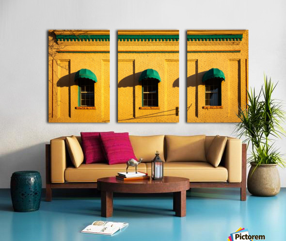 Trio Split Canvas print