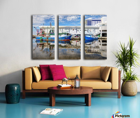 PAY DAY - NATURAL EFFECT - HDR Split Canvas print