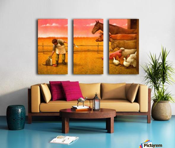 Pawel Kuczynski17 Split Canvas print