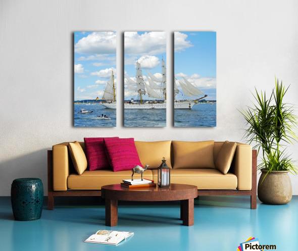 Tall Ships  Newport  Rhode Island Split Canvas print