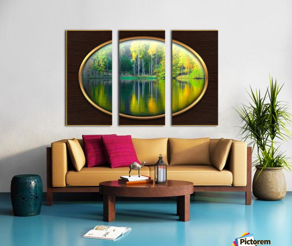 Landscape 1 Split Canvas print