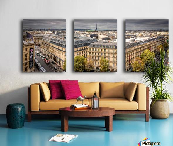 Paris Split Canvas print
