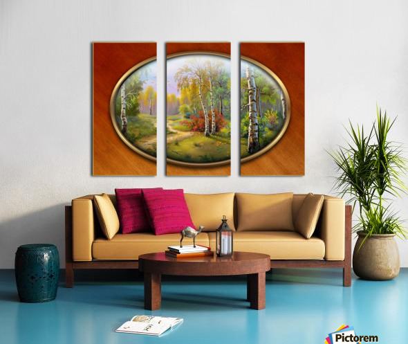 Landscape 7 Split Canvas print