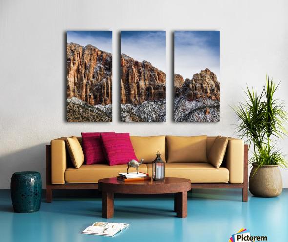 Zion National Park 3 Split Canvas print