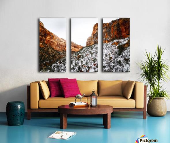 Zion National Park 1 Split Canvas print