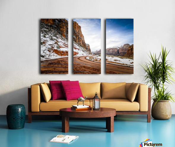 Zion National Park  Split Canvas print