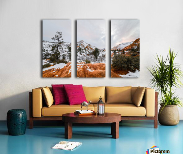 Bryce Canyon Split Canvas print