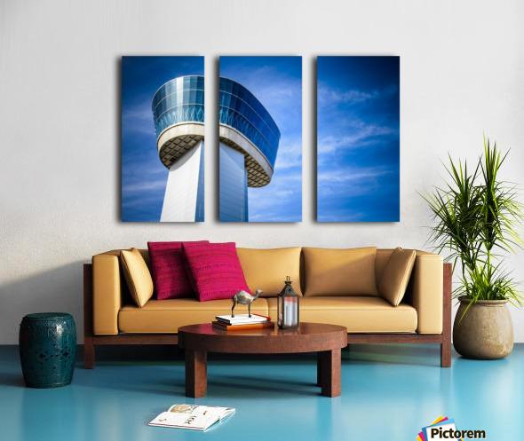 Airport Traffic Control Tower Split Canvas print