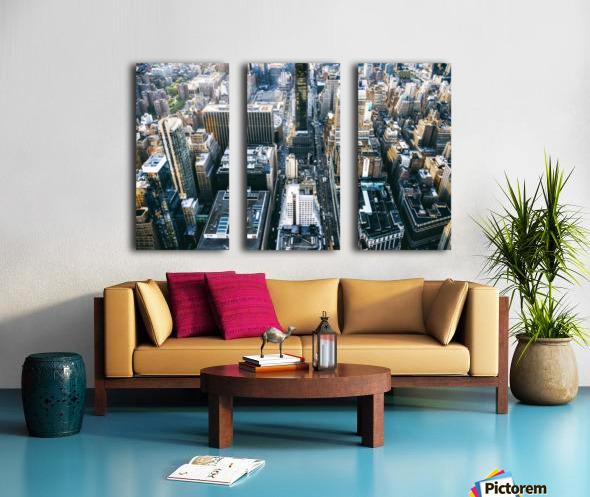 New York city Skyline View  Split Canvas print