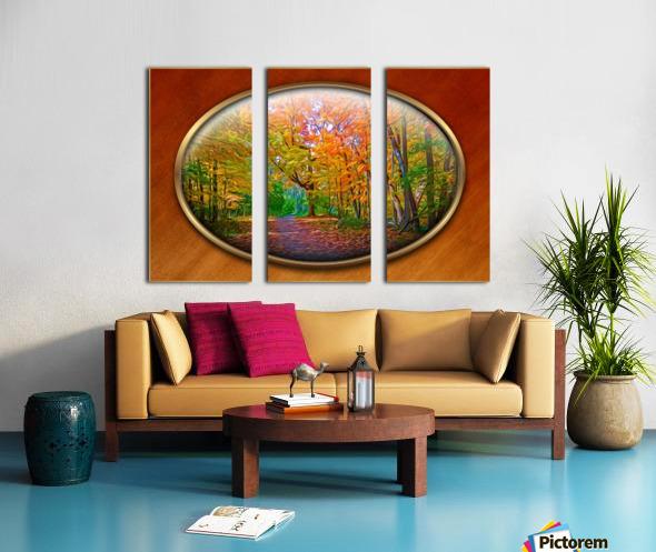 Landscape 15 Split Canvas print