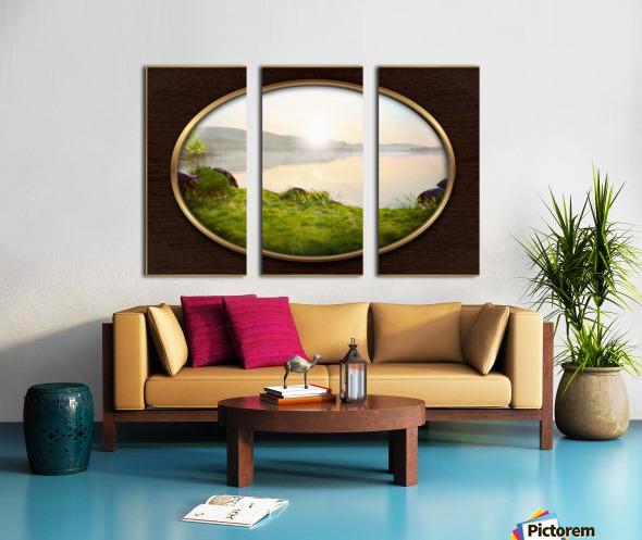 Landscape 13 Split Canvas print