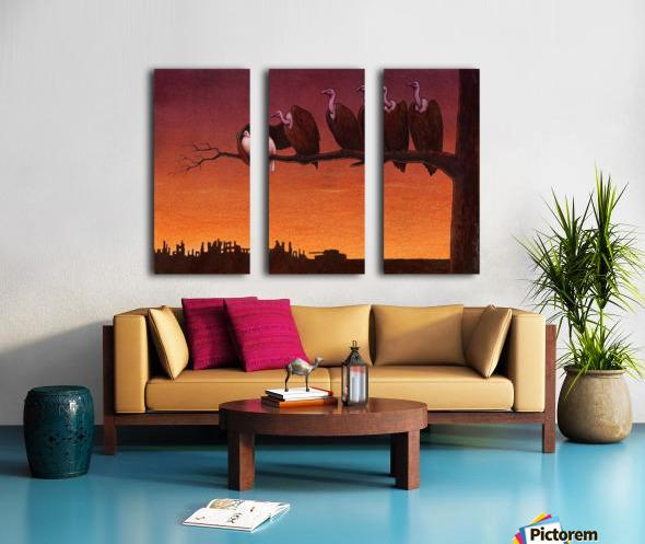 Pawel Kuczynski 24 Split Canvas print