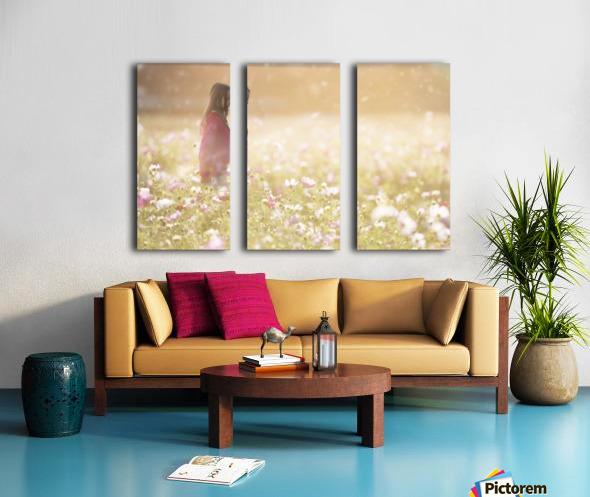 Peaceful Meadow Utah United States Split Canvas print