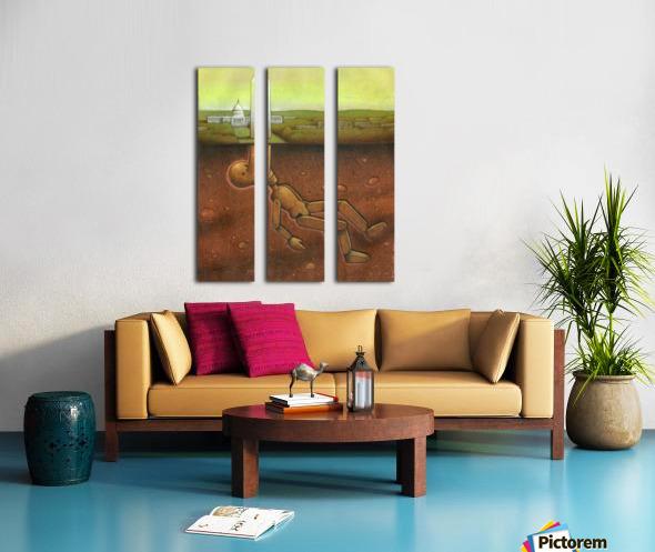 Pawel Kuczynski 25 Split Canvas print