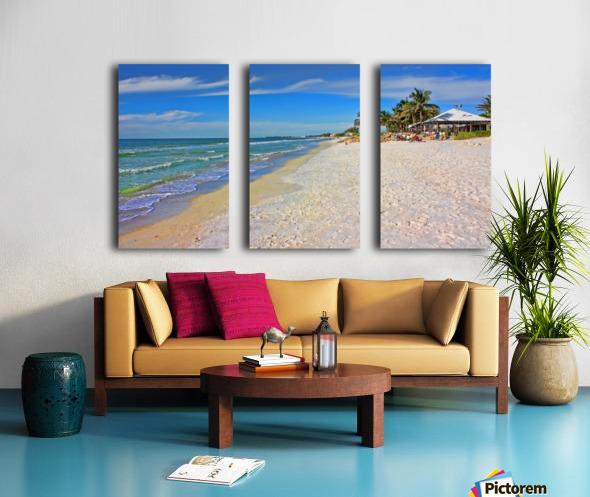 Beach Time  Split Canvas print