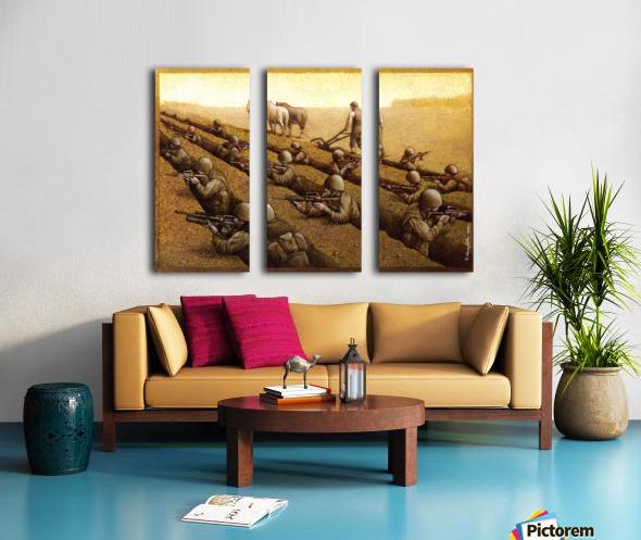 Pawel Kuczynski 26 Split Canvas print