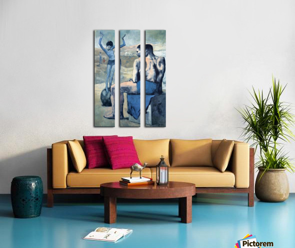 Pablo Picasso. Girl on the Ball HD 300ppi Split Canvas print
