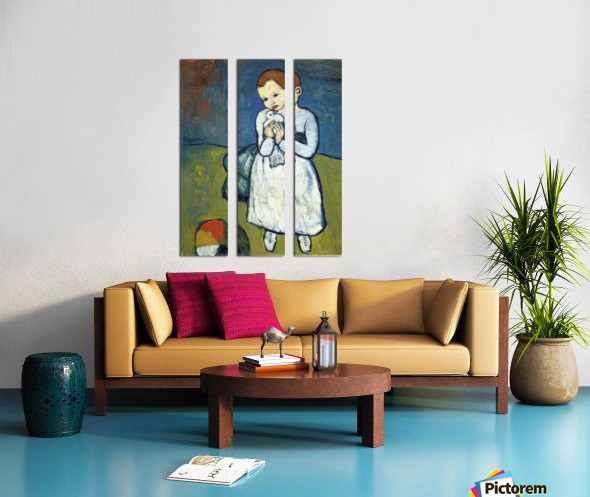 Pablo Piccaso. Child with Dove HD 300ppi Split Canvas print