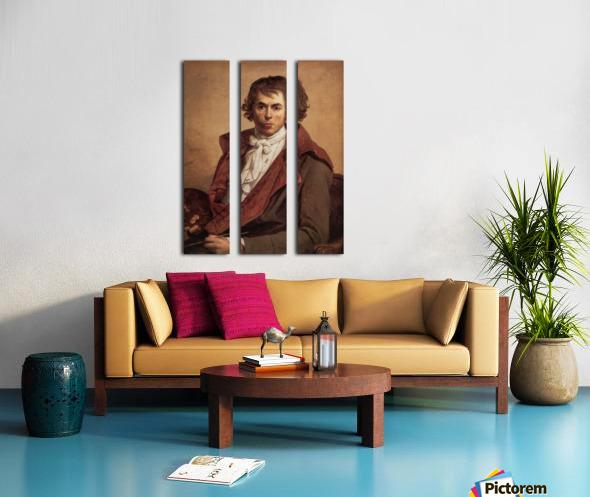 David Self Portrait Split Canvas print
