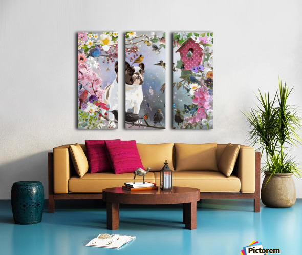 Olive Garden Split Canvas print