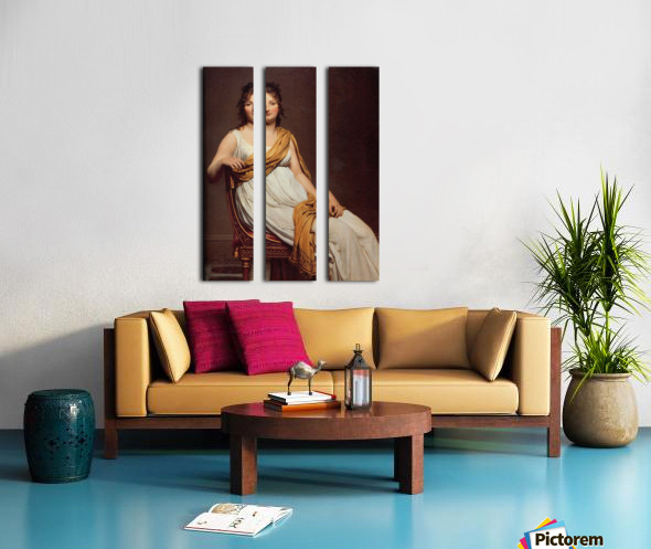 Madame Raymond Split Canvas print