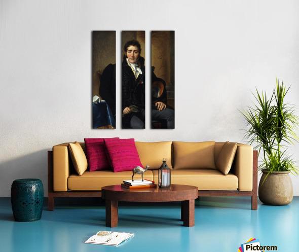 Portrait of Greve Split Canvas print