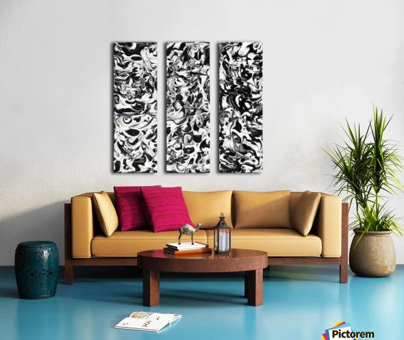 No.1 Split Canvas print