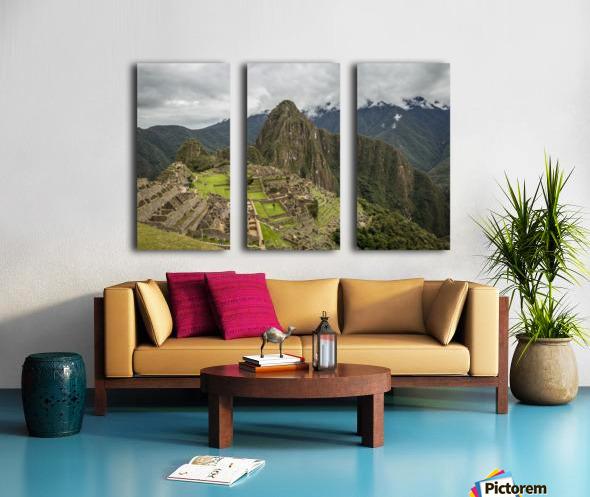 Machu Picchu Split Canvas print