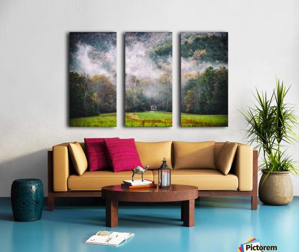 Smokey Mountain  Split Canvas print