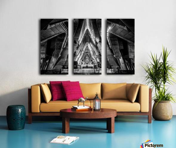 Cathedral Split Canvas print