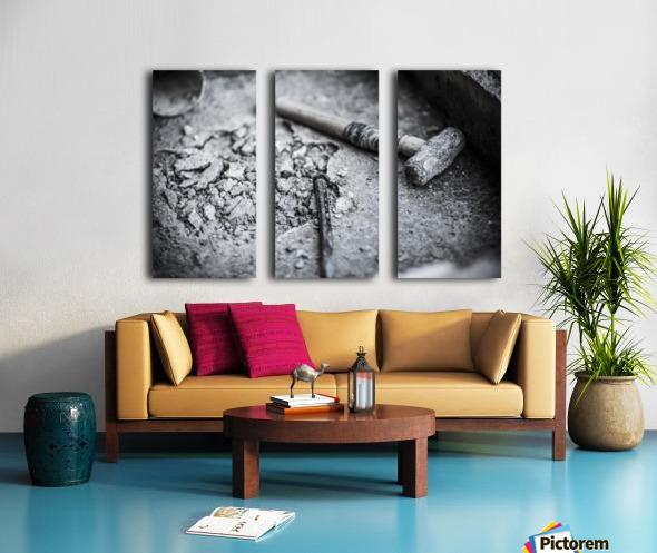 Hammer Split Canvas print