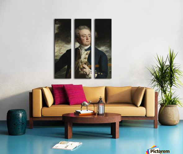 Sir John Split Canvas print