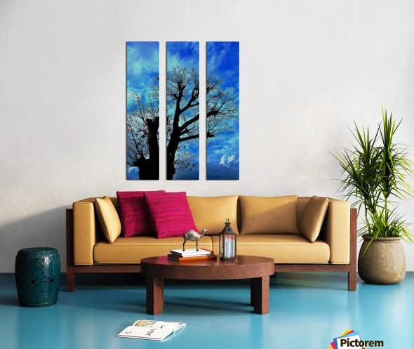 Tree Without Leaf Split Canvas print