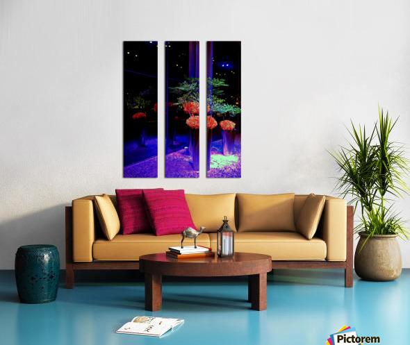 Flower Arrangement Split Canvas print