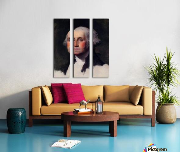 Gilbert Stuart Split Canvas print