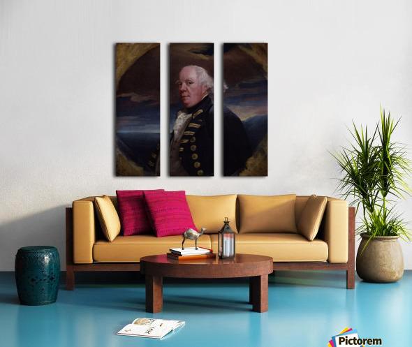 Samuel Barrington Split Canvas print