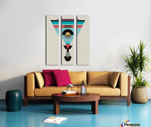 Cleoptra Split Canvas print