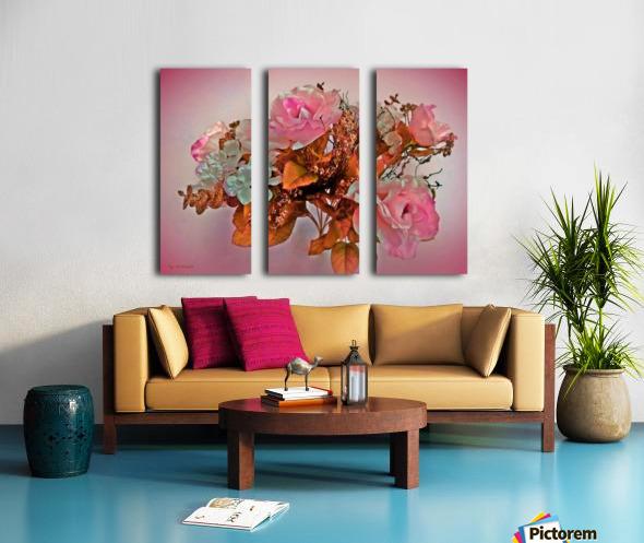 Pink Springtime Morning Split Canvas print