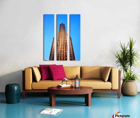 Rockefeller Split Canvas print