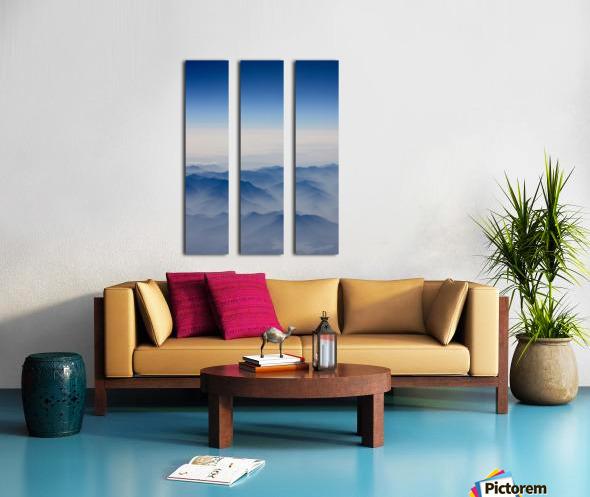 Japanese Mountains Split Canvas print