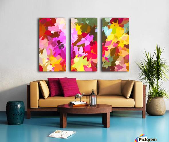 Winterberry Split Canvas print
