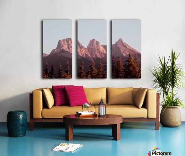 The Three Sisters Split Canvas print