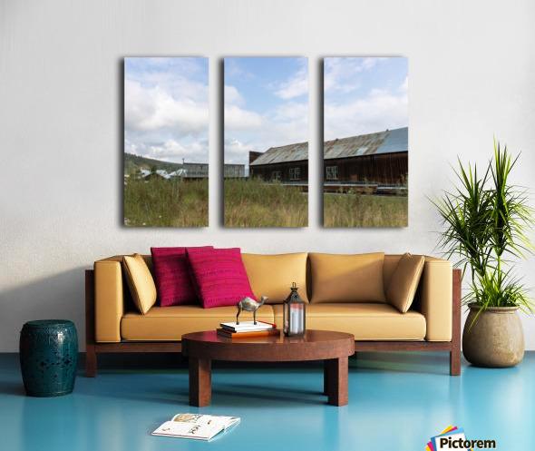 Dawson City, YT   19 Split Canvas print
