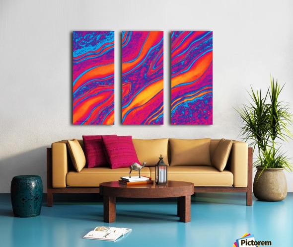 Intense Emotions Split Canvas print