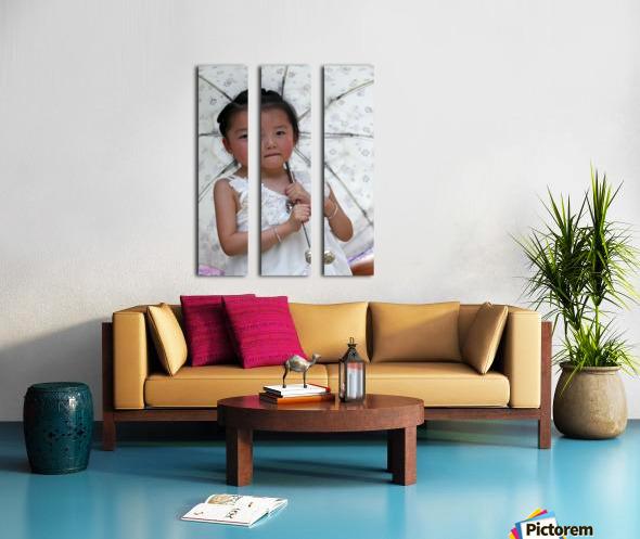 Beijing Princess Split Canvas print