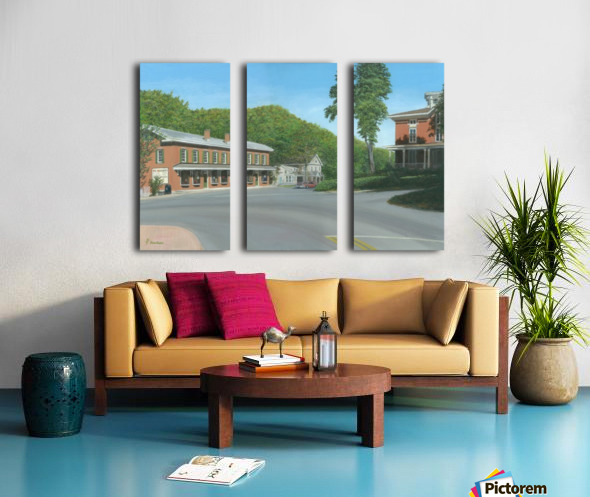 The Brick Store - Newtown Scenes 18 X 26  Split Canvas print