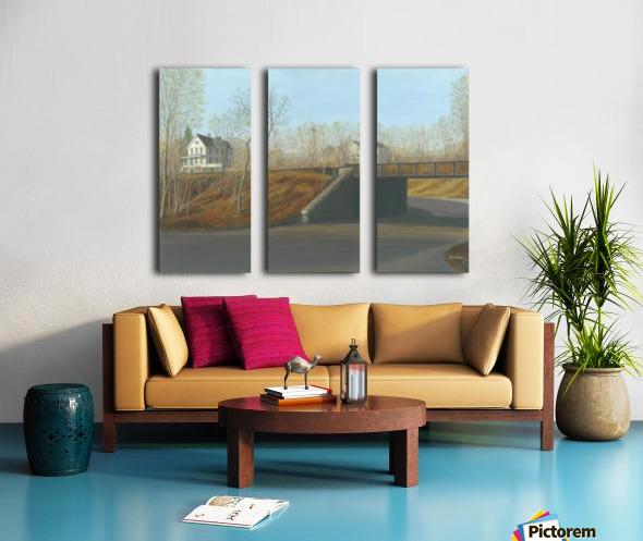 Botsford Underpass - Newtown Scenes  18X24 Split Canvas print