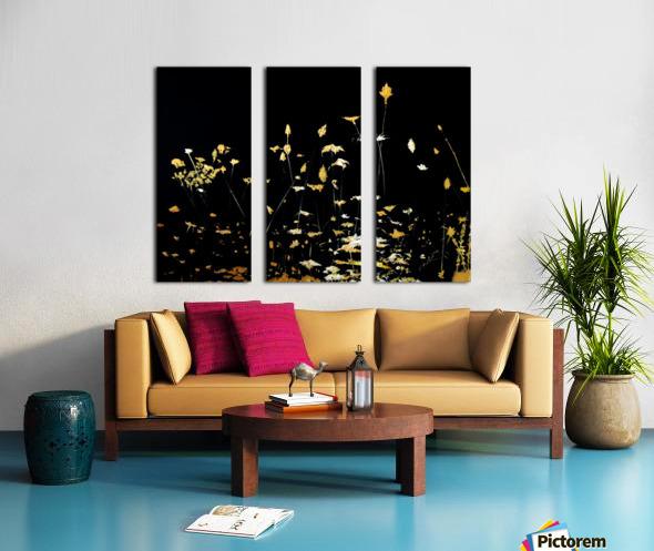 Little Chrysanthemum Split Canvas print