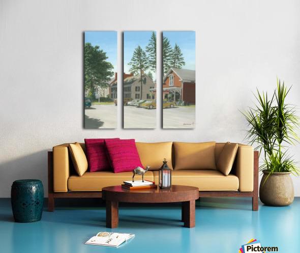 The General Store - Newtown Scenes 16X16 Split Canvas print