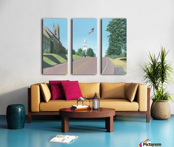 Church Hill Road - Newtown Scenes 16X20 Split Canvas print